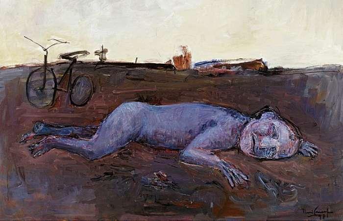 No vento e na terra, 1991. Iberê Camargo