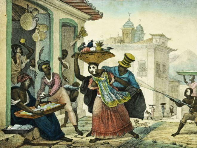 Entrudo, de Jean-Baptiste Debret (1768-1848